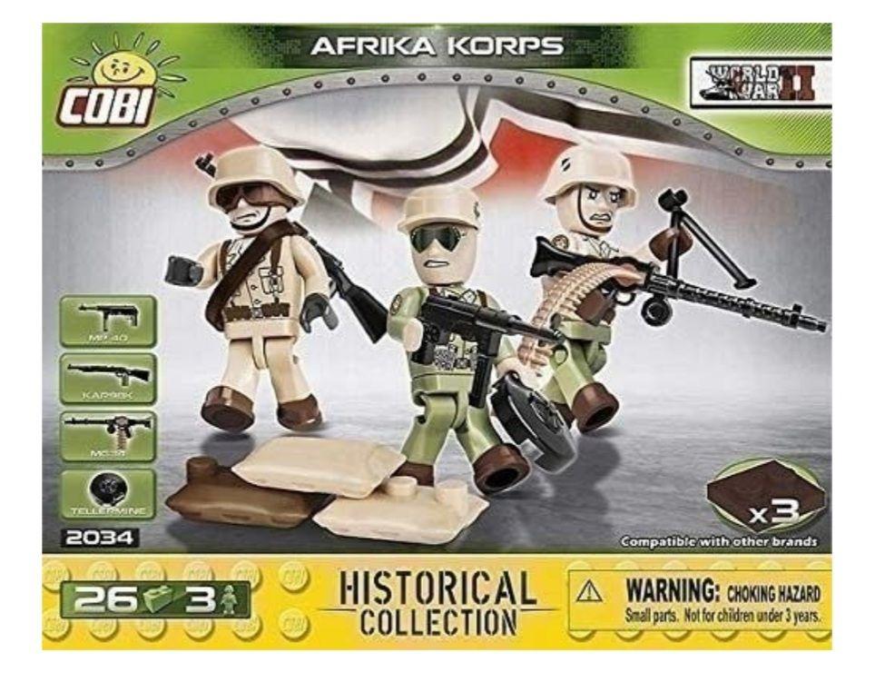 COBI-2034 DEUTSCHES AFRICA KORPS