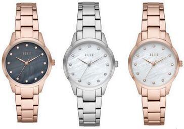 Elle Damen Armbanduhr (3 Farbvarianten verfügbar) [iBOOD]