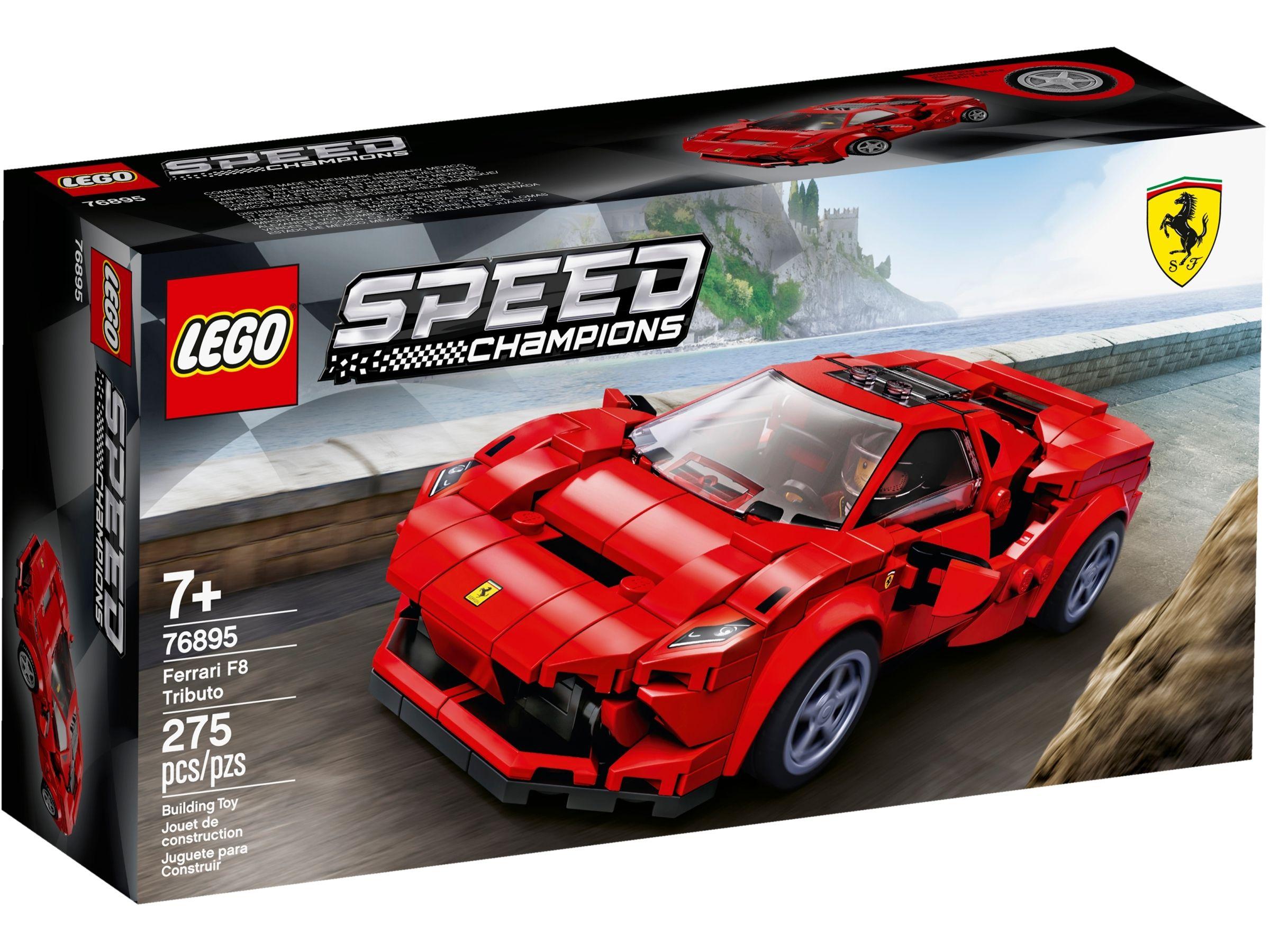 (Prime) LEGO 76895 Speed Champions Ferrari F8