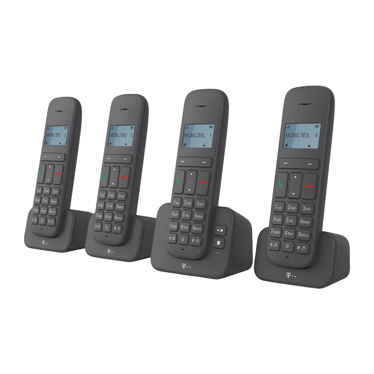 ALDI NORD - DECT Telekom Sinus Quattro Telefon mit AB - Ab 28.01.21 in der Filiale