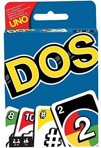 [Prime] Mattel Games FRM36 DOS Kartenspiel, geeignet für 2 - 4 Spieler, Spieldauer ca. 30 Minuten
