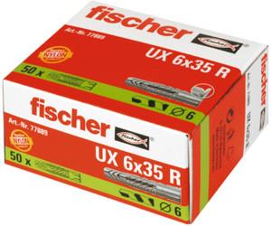 (Prime) fischer UX 6 x 35 R - Universaldübel - 50 Stück - Art.-Nr. 77889