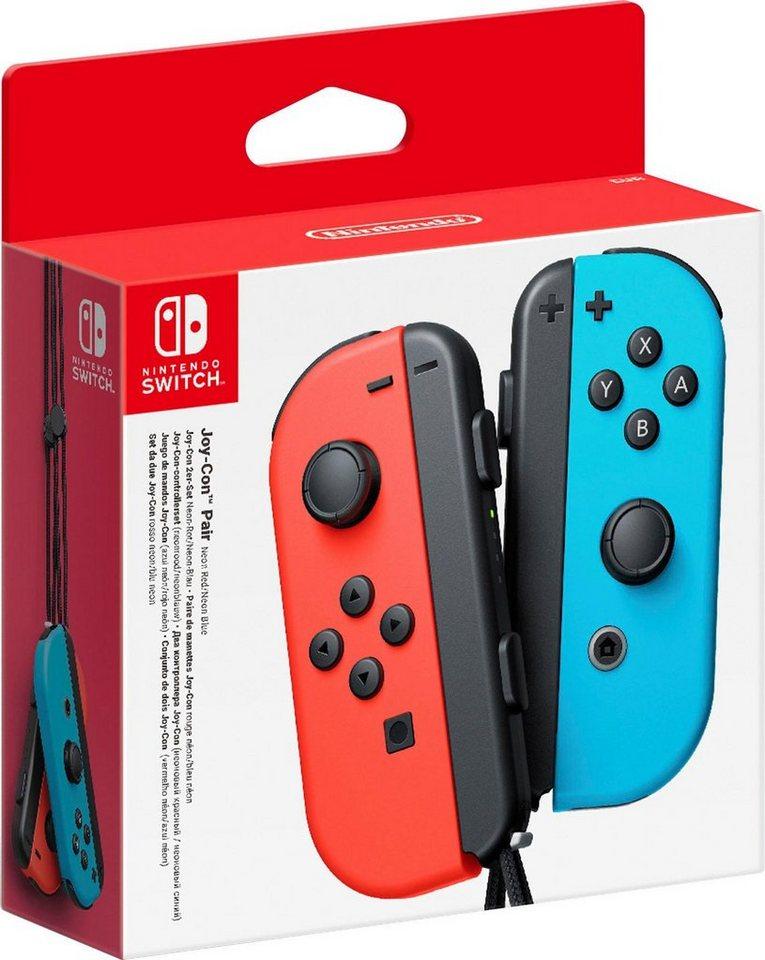 OTTO Neukunde - Nintendo Switch Joy-Con 2er-Set rot-blau mit Shoop 56,10€ möglich