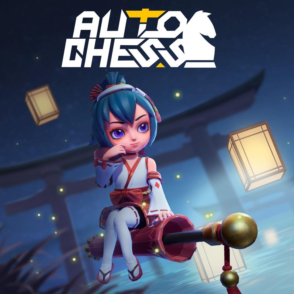 (PS4) Auto Chess - DLC Chiyome Mochizuki Figur (PS+ Exclusive)