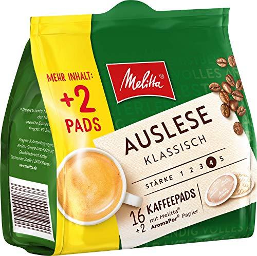 [Amazon] Melitta Kaffeepads für Senseo verschiedene Sorten 180 Stück (10 x 18 St)