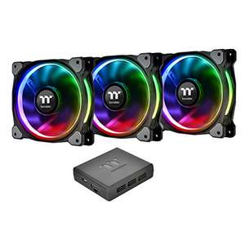[Prime][Tiefstpreis]Thermaltake Riing Plus 14 RGB LED (3er Set + Fancontroller & Software) Gehäuselüfter