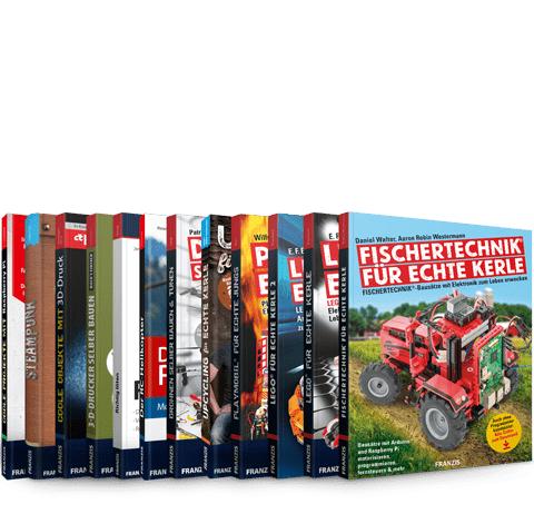 500 Maker-Projekte für die ganze Familie (12 E-Books im PDF-Format z.B. Richtig löten, Projekte mit Raspberry Pi, Lego, Playmobile uvm.)