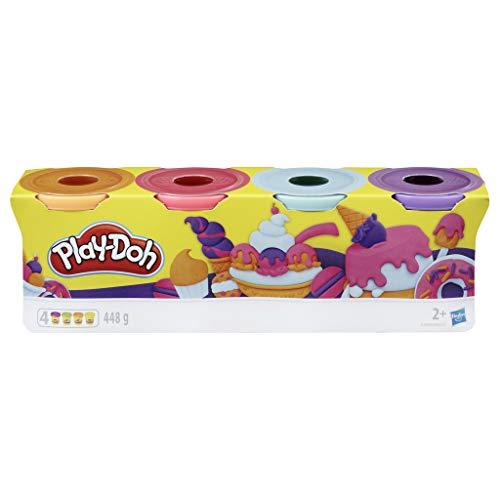 4 Play Dooh Knete Sweet Farben