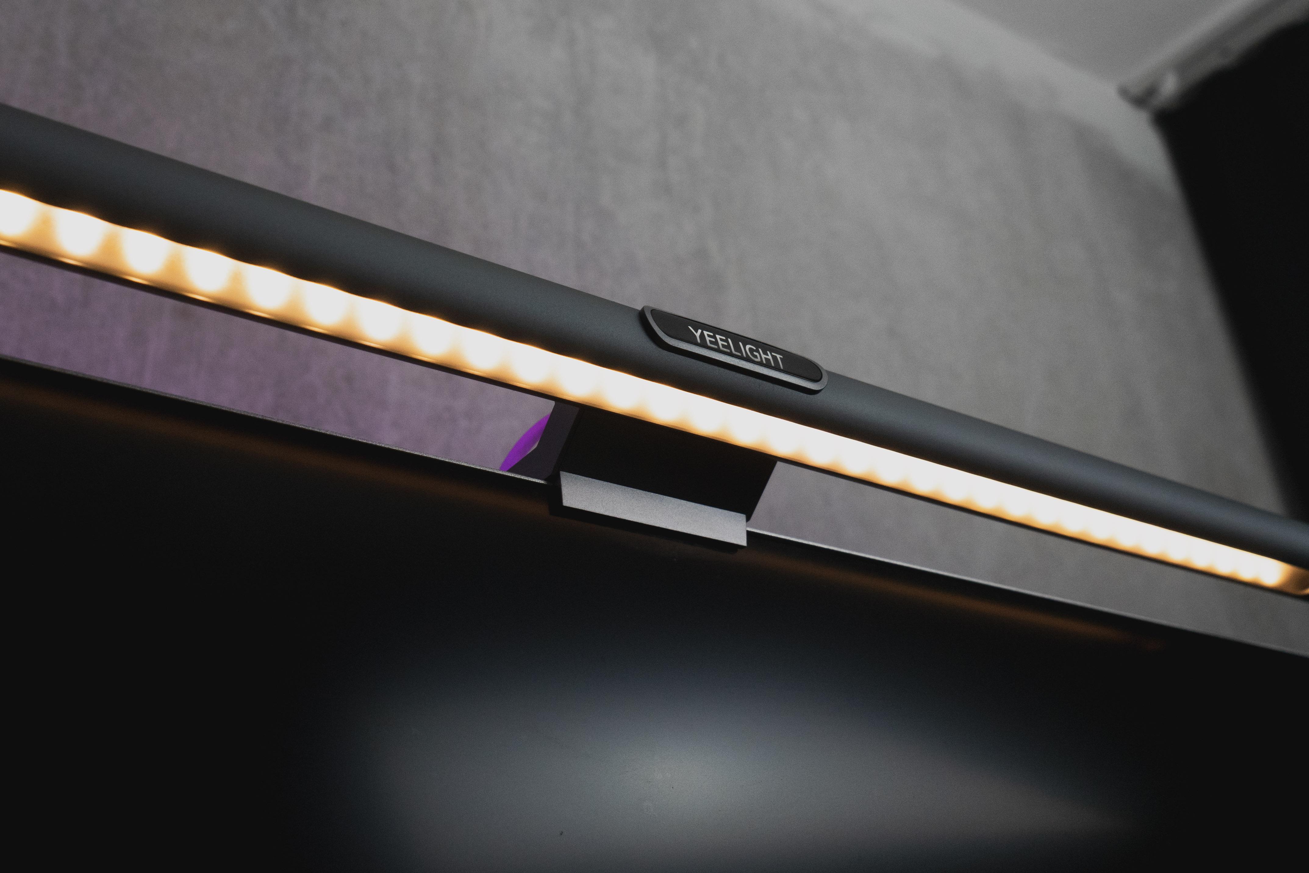 Yeelight Screenbar YLTD003 Pro Version - Monitor-Stableuchte mit Fernbedienung - 10W (LED: 80x 0,2W + 40x 0,2W)