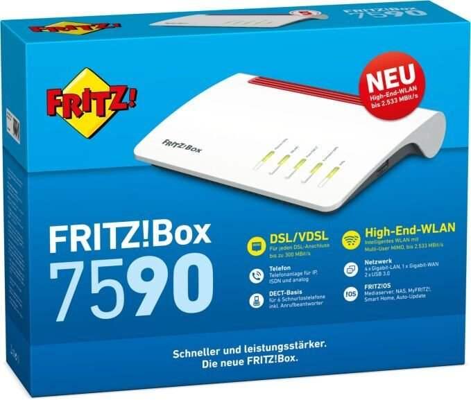 AVM Fritz!Box 7590 Router für 169,57€ inkl. Versandkosten