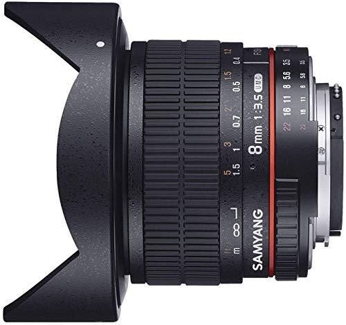 Samyang 8mm F3.5 UMC Fisheye CS II Objektiv für Sony E-Mount (APS-C)