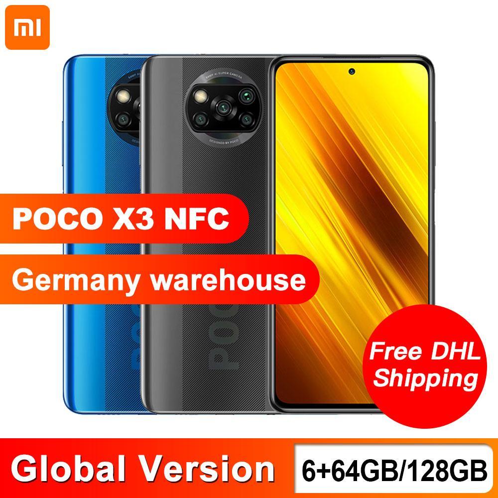 Xiaomi POCO X3 NFC 6GB 64GB; aus Deutschland! Snapdragon 732G Octa Core; 64MP Quad Camera 6.67 inch 120Hz DotDisplay 5160mAh