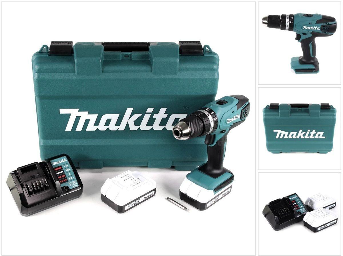 Makita Akku-Schlagbohrschrauber HP457DWE, 2 Akkus, mit Koffer für 89,99 Euro [Lidl Wiedereröffnung / aufgeführte Filialen]