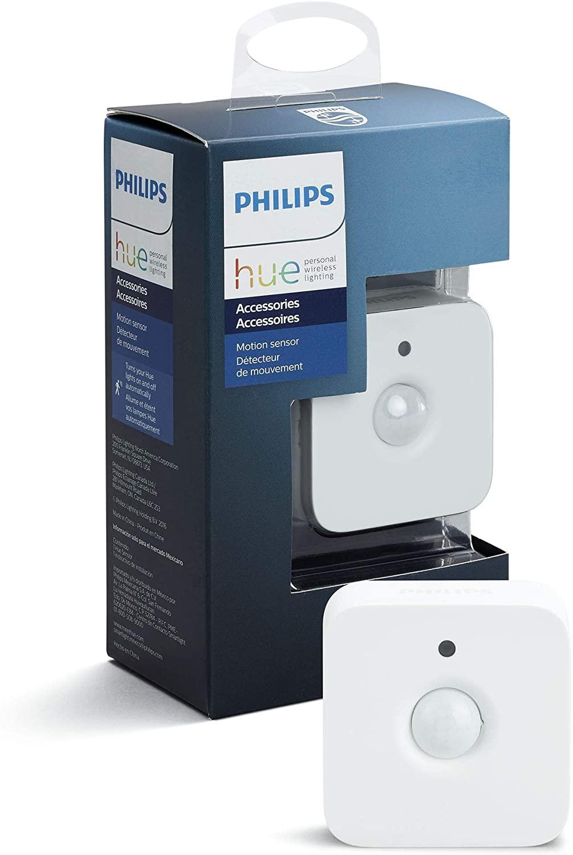 Philips Hue Schalter Bewegungsmelder indoor mit Licht und Temp. Sensor