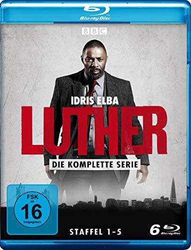 Vorbestellbar: Luther - komplette Serie [Blu-ray] Staffel 1-5 für 21,99€ [Amazon Prime]