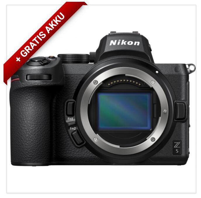 Nikon Z5 (Body) wetterfeste Vollformat-Kamera inkl. Nikon-Zusatzakku