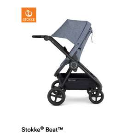 Stokke® Kinderwagen Beat™ Blue Melange