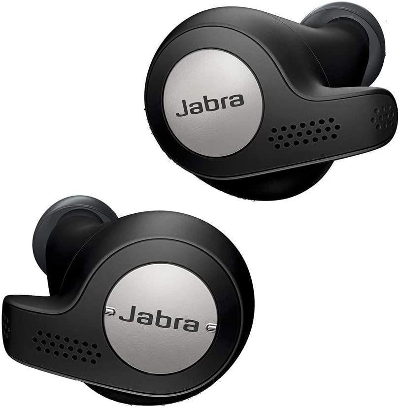 Jabra Elite Active 65t True Wireless In-Ear Sport Kopfhörer (Headset-Funktion, 15h Akku mit Ladecase, Bewegungssensoren, Fitnesstracking)