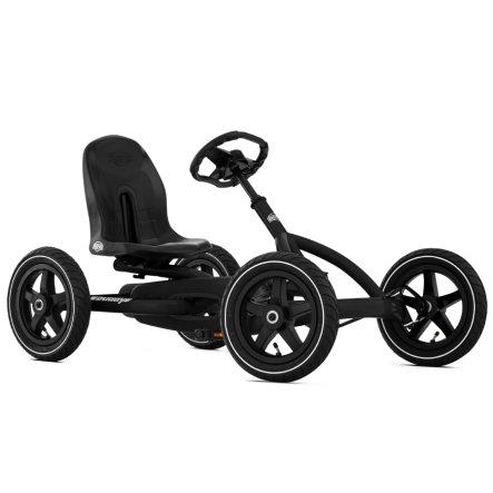 BERG Pedal Go-Kart Buddy Black Edition: Luftreifen + Lenkrad & Sitz verstellbar