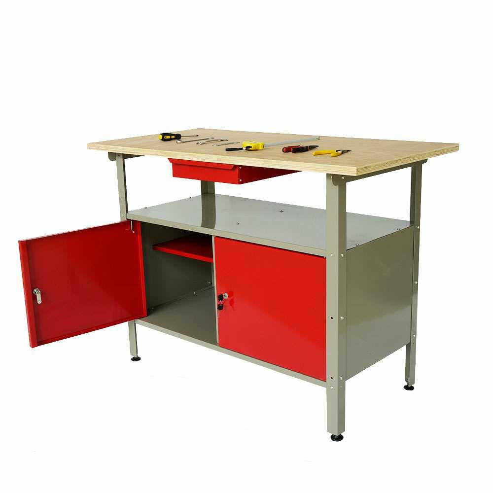 Kraft Werkzeuge Werkbank Werkraum Schrank @norma24