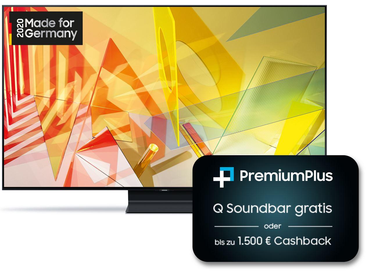 Samsung GQ75Q90TGTXZG 75 Zoll 120 Hz, HDMI 2.1 VRR + 350 € Cashback oder Soundbar Gratis