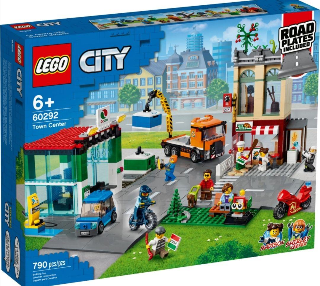 Lego City Stadtzentrum 60292