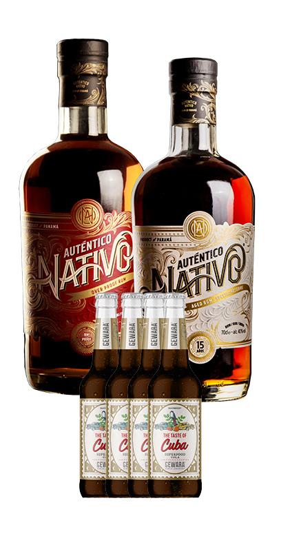 Rum und Cola: 2 verschiedene Rum-Spirituosen und 4x Gratis Kubanische Cola