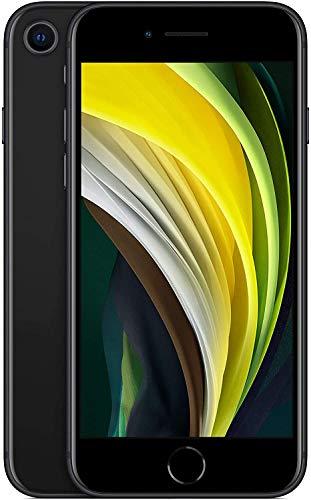 (Gebraucht) Iphone SE 2020 128 GB, schwarz/rot/weiß, Amazon Renewed (wie NEU)