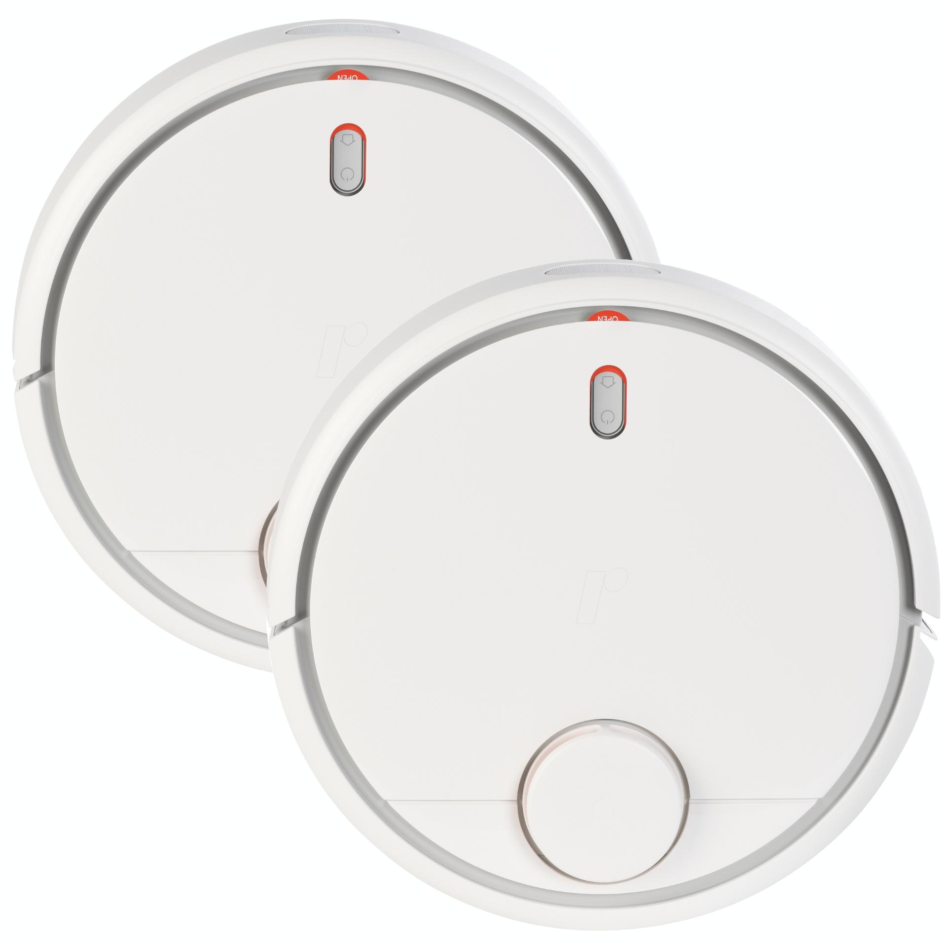 2er Bundle: Xiaomi Mi Robot (Lasernavigation mit Karte, 0.5l Staubbehälter, ~150min Akkulaufzeit, App-Steuerung, 159€/Stück)