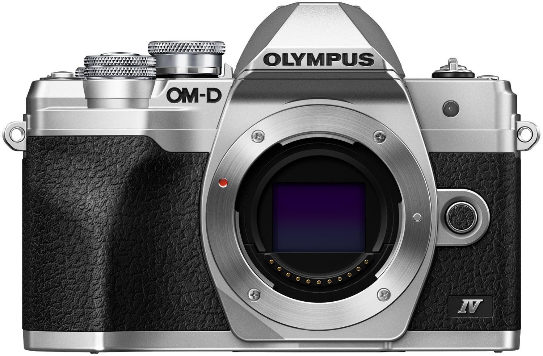 Olympus OM-D E-M10 Mark IV MFT Systemkamera silber