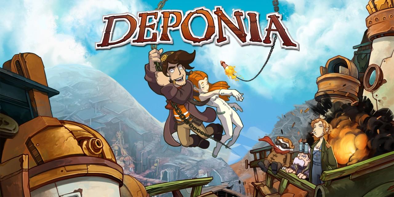 Deponia (Switch) für 3,99€ & weitere Deponia Spiele für je 1,99 oder Edna & Harvey: Harveys neue Augen / The Breakout für je 4,99€
