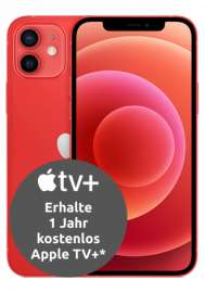 Apple iPhone 12 mini 5G (64GB) mit Vodafone Smart L+ (15GB / 20GB LTE, VoLTE, WLAN Call) für 75€ ZZ & mtl. 34,91€ + 1 Jahr Apple TV+