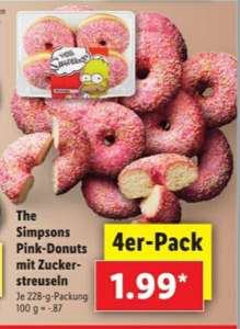 4er Pack Simpons Donuts 1.99€