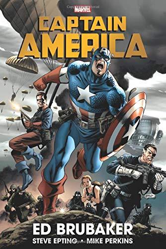 [Amazon] Marvel Comics Captain America By Ed Brubaker Omnibus Vol. 1 HC (Englisch) Gebundene Ausgabe. 744 Seiten