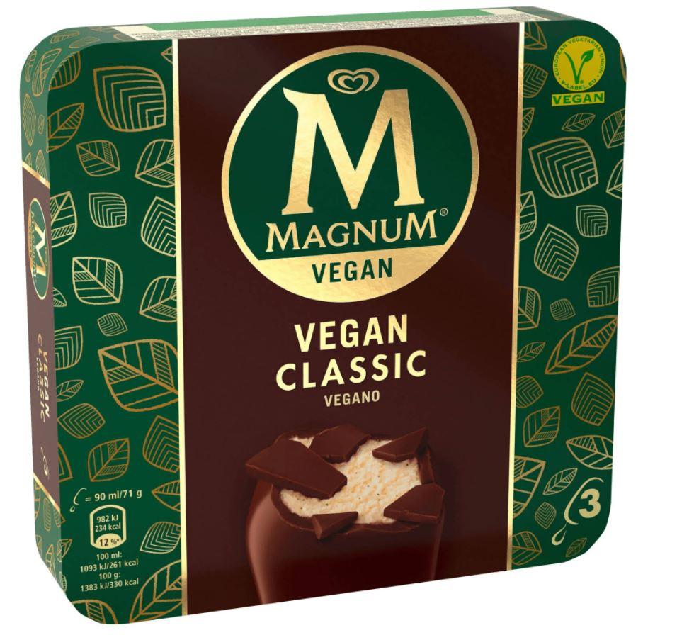 Magnum Vegan 3er Classic & Mandel für effektiv 0,17€ pro Stück [Lokal? Kaufland HH-Nord]