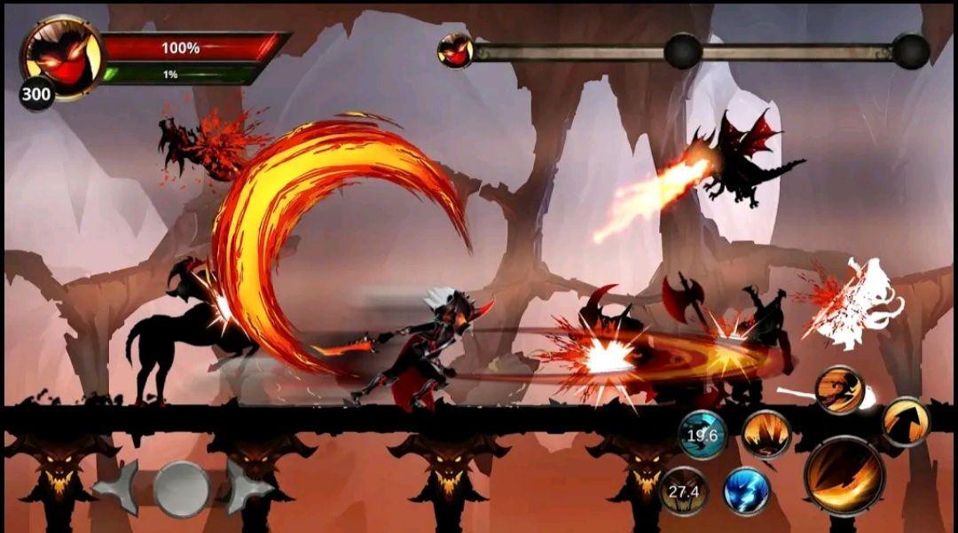 Shadow Hunter: Stickman Legends Offline RPG kostenlos für 0 Euro statt 0,59€