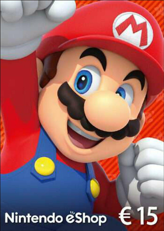 Nintendo E-Shop Guthaben Karte 15€