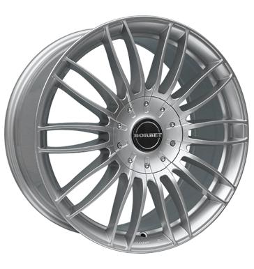 Borbet CW3 Alufelge 8,5x19 ET55 in Sterling Silber Autofelgen