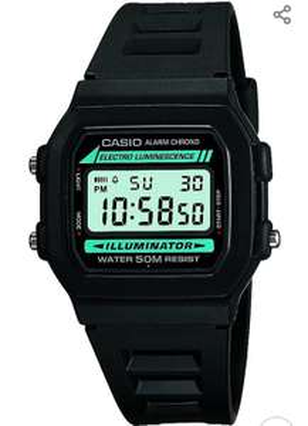 Casio W-86-1VQES Digital Armbanduhr