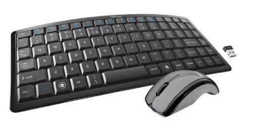 Trust Curve Wireless Tastatur mit Maus (DE, USB) schwarz (17,99€ incl. versand@amazon.de)