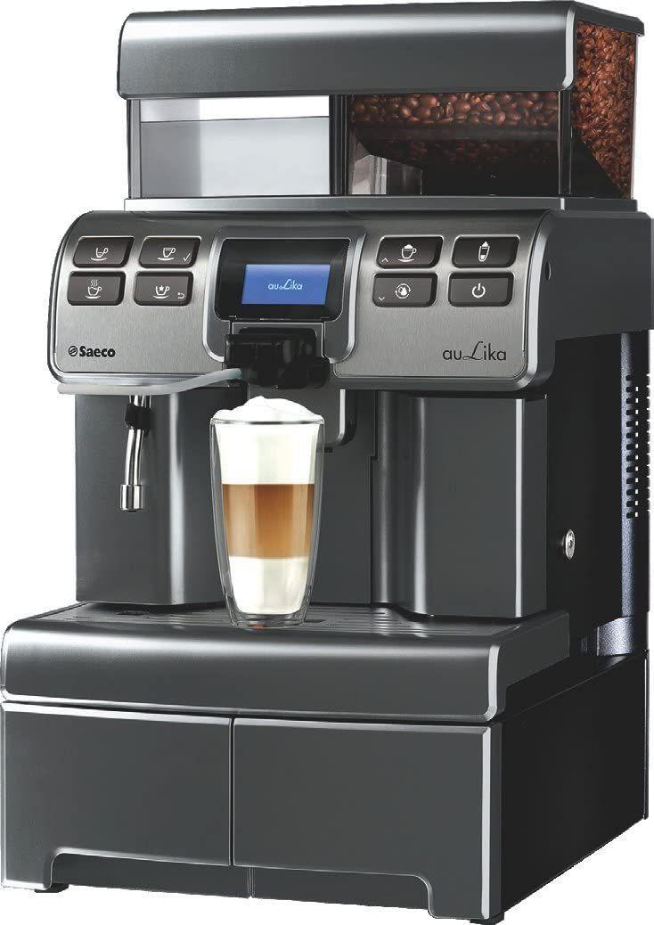[etrona.de] Saeco Kaffeevollautomat Aulika Top HSC V2 Black, 4l 23kg (10005247)
