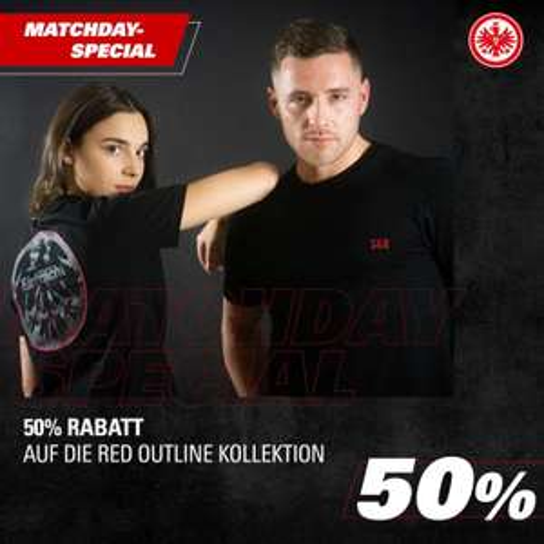 [Eintracht Frankfurt] Matchday Special 50% auf die Red Outline Collection