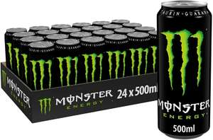 [Prime Sparabo] Monster Energy, Dose (24 x 500 ml, zzgl. 6€ Pfand, 77c/Dose)