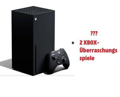 Xbox Series X + 2 Games (Nur 1x Verfügbar) (eBay Media Markt)