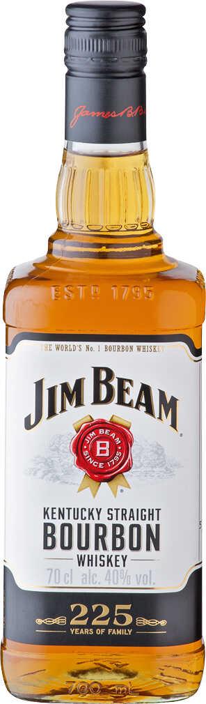 [Kaufland] JIM BEAM Kentucky Straight Bourbon Whiskey, Apple oder Honey Whiskey-Likör