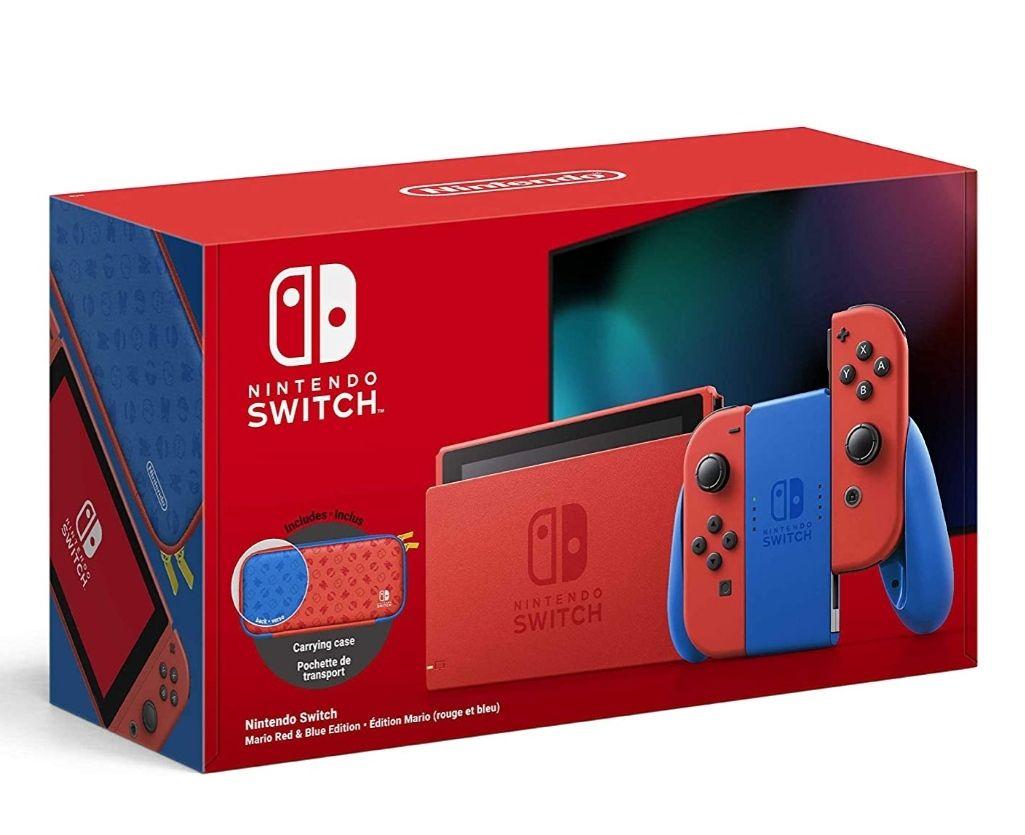 Nintendo Switch, Mario Red & Blue Edition