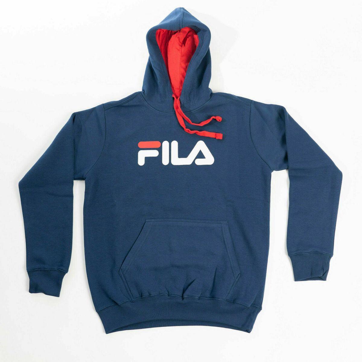 Fila Classic Hoodie in dunkelblau für 27,90 Euro (M-XXL) [Wieder da]