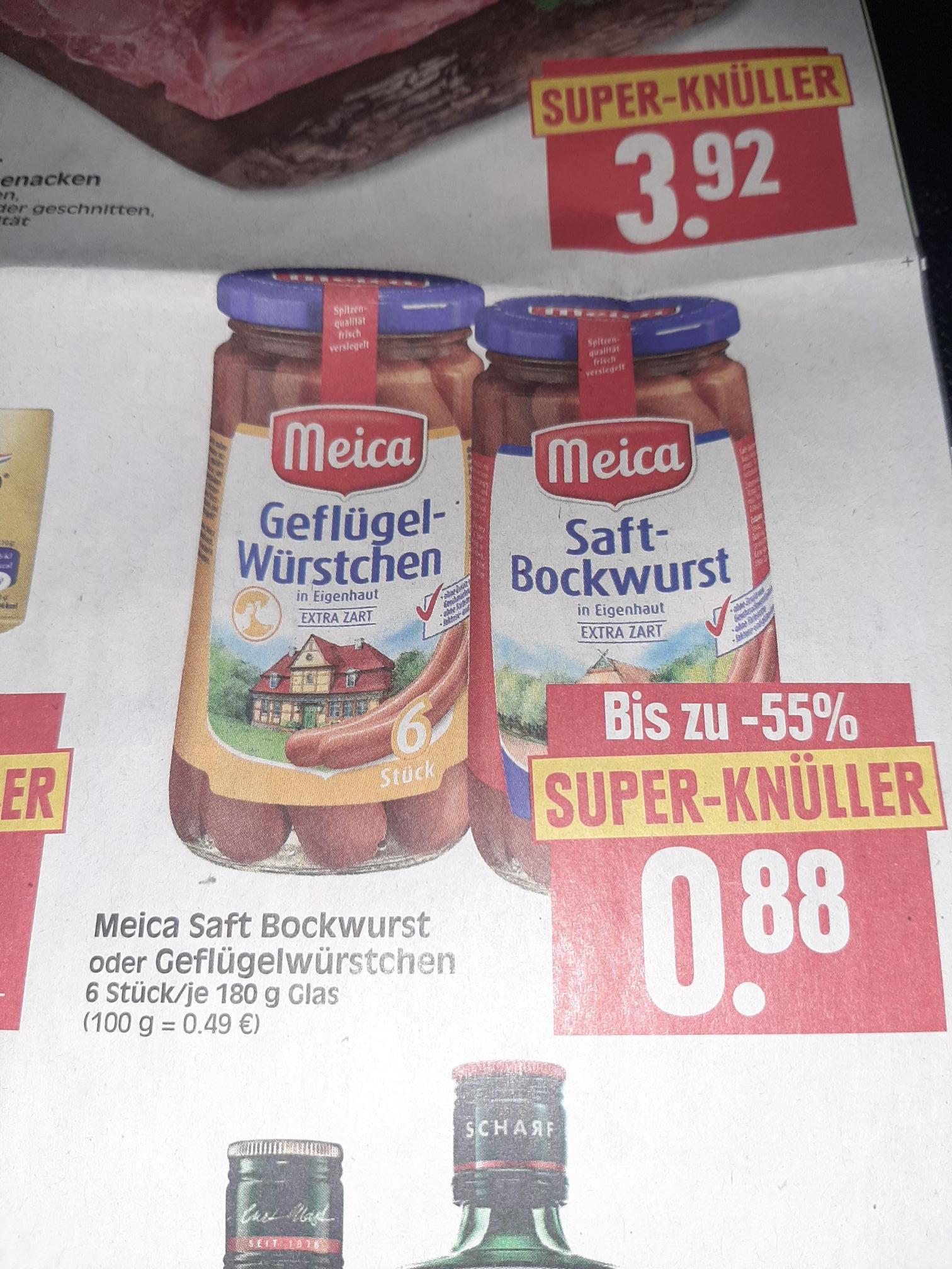 HERKULES MARKT: Meica Würstchen 180gramm nur 0.88€
