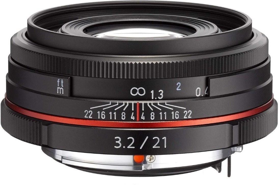 Pentax HD DA 21mm F3.2 AL Limited Objektiv in schwarz