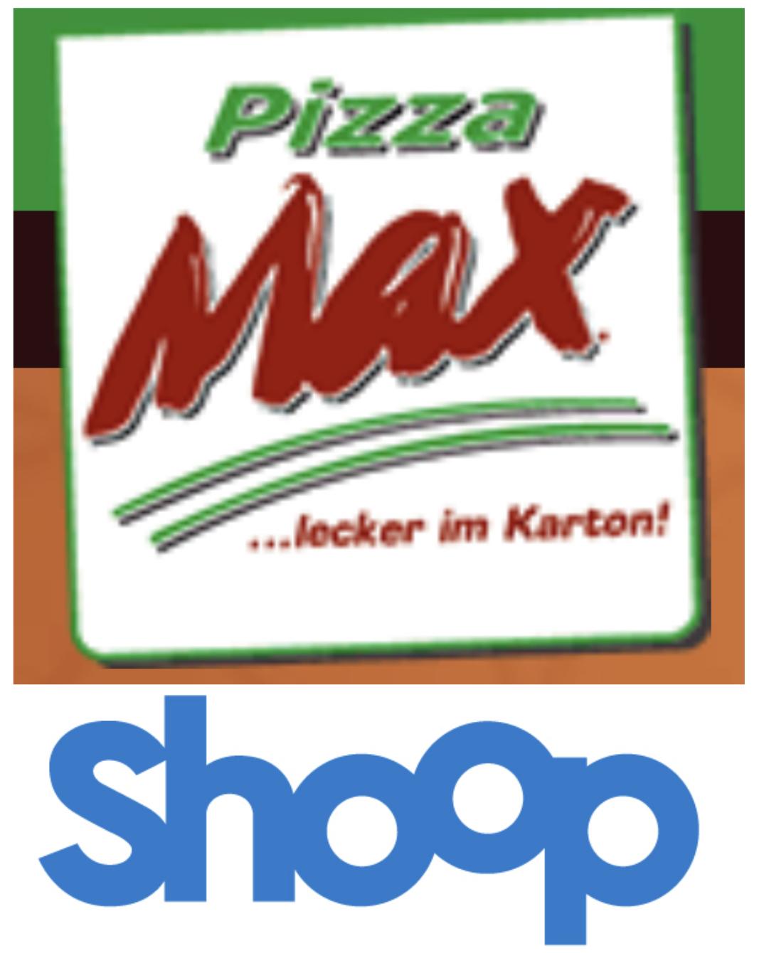 Hamburg, Berlin, Potsdam, Lübeck, Kiel: 30% Cashback bis max. 49,99€ + 3€ Gutschein (ab 10€) bei Pizza Max Lieferservice [Shoop]